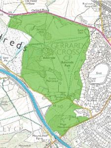 Bulstrode Park Map