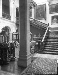Bulstrode staircase 1898