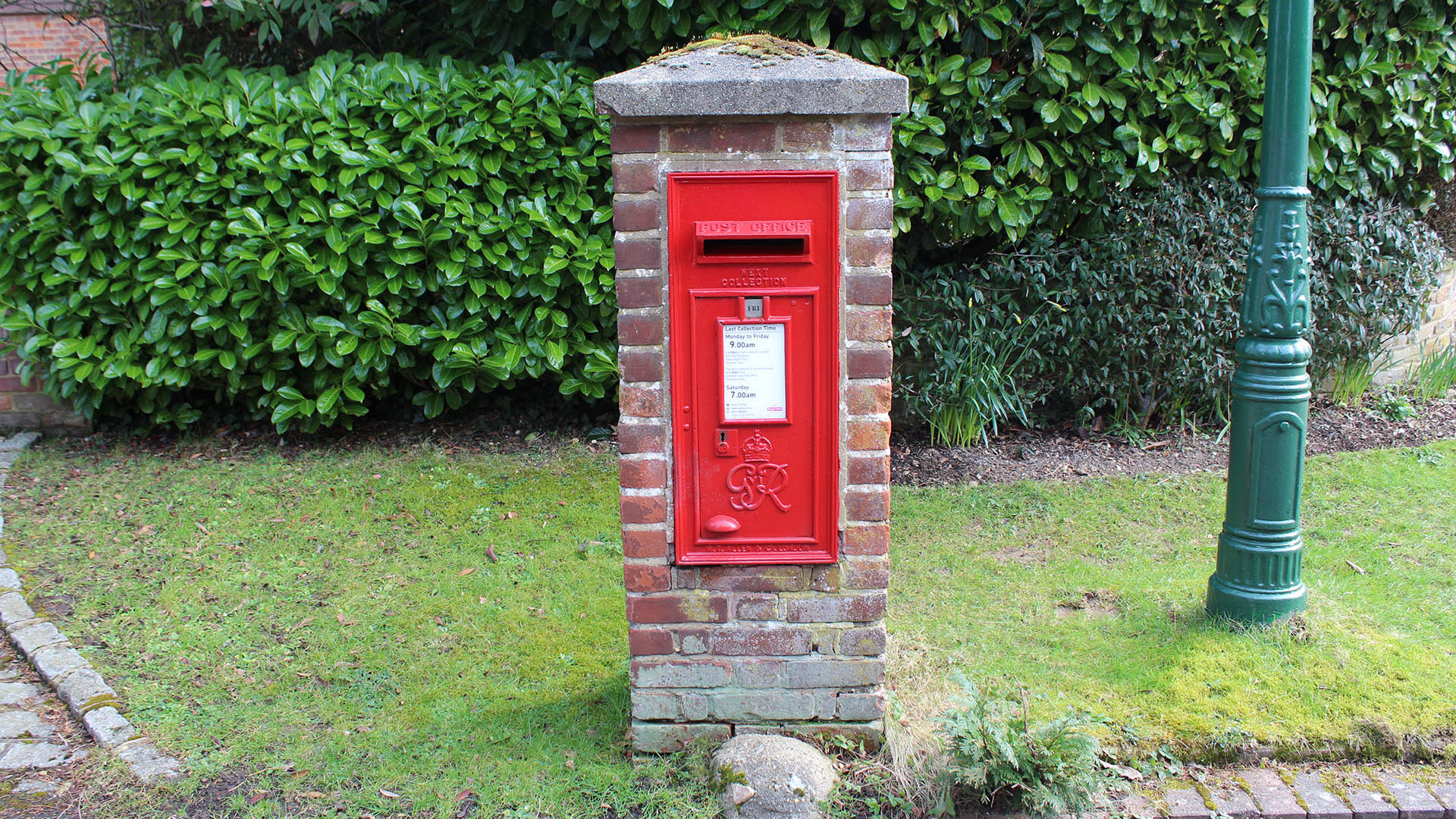 Camp Road Post Box