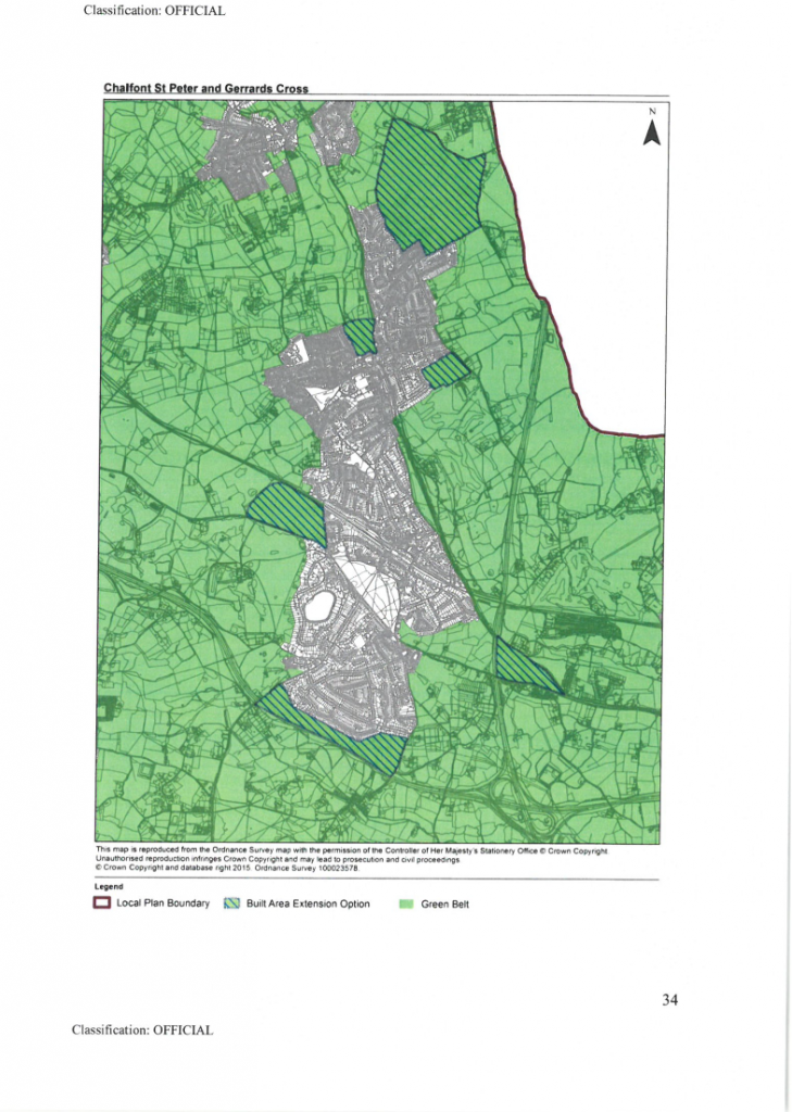 Green Belt threatened