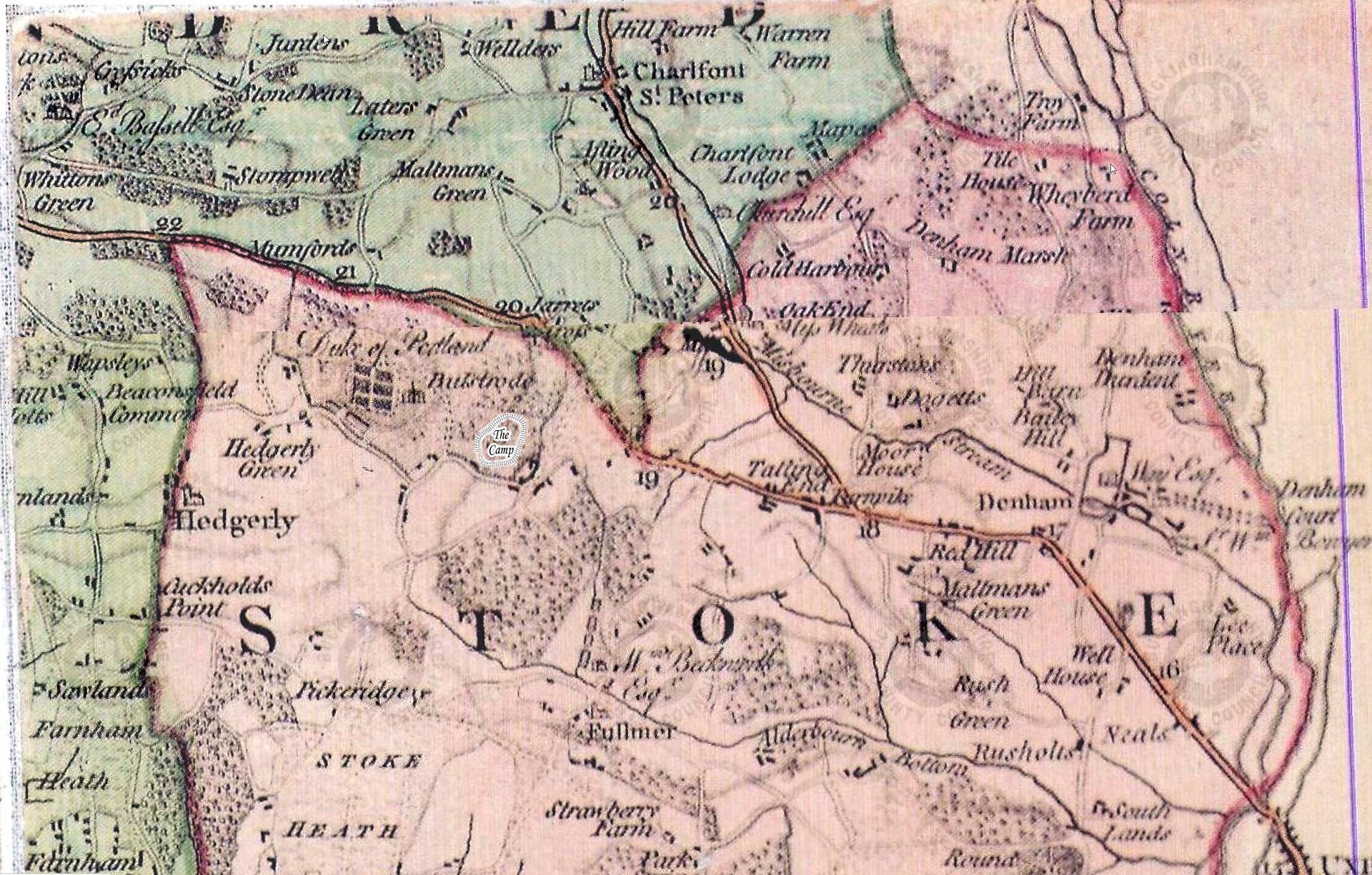 Jeffreys 1760 Map
