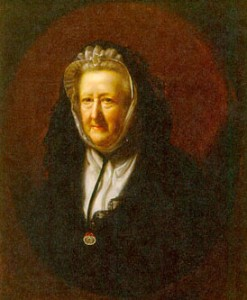 Mary Delany portrait 1782