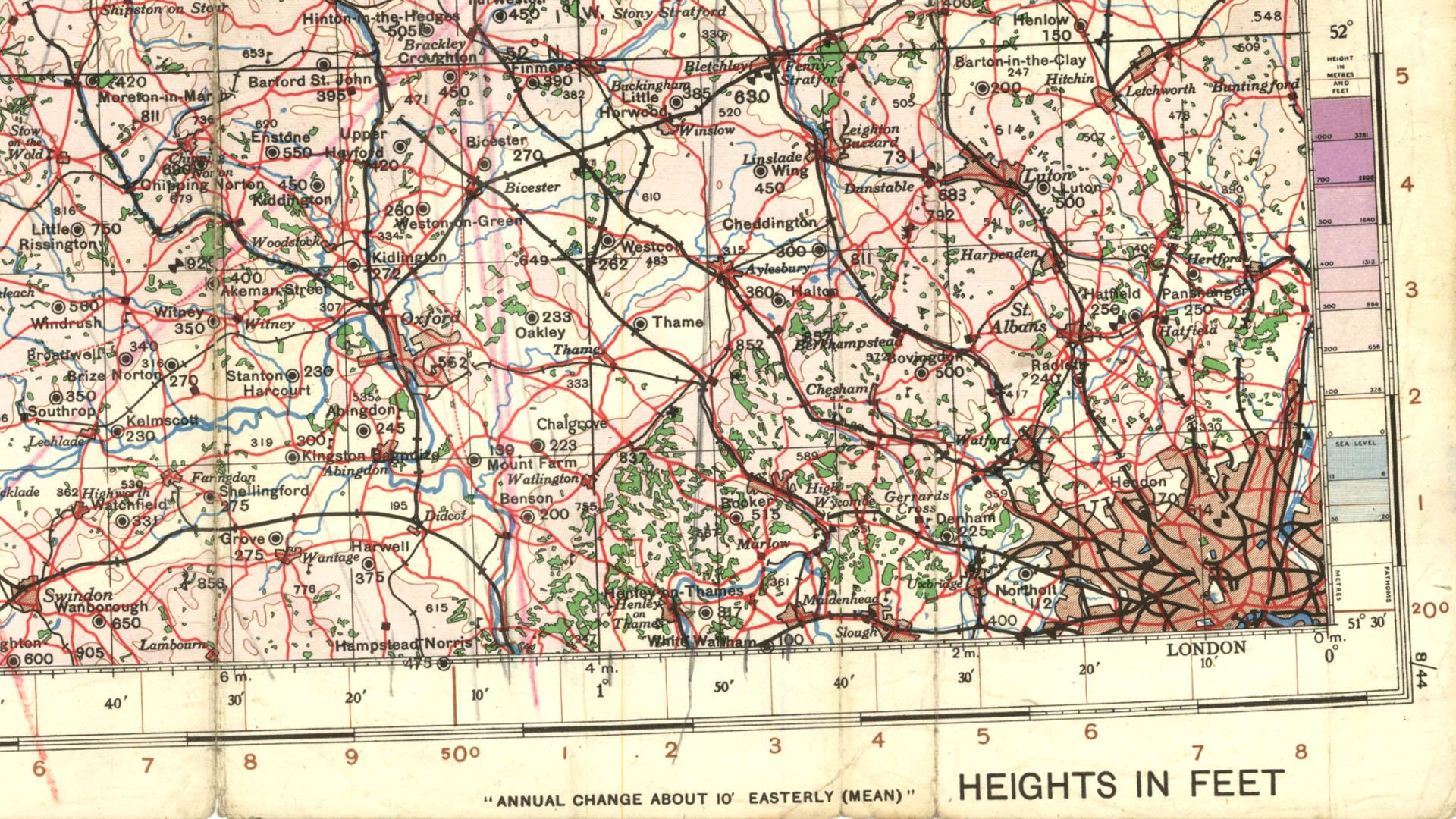 War office Map 1940