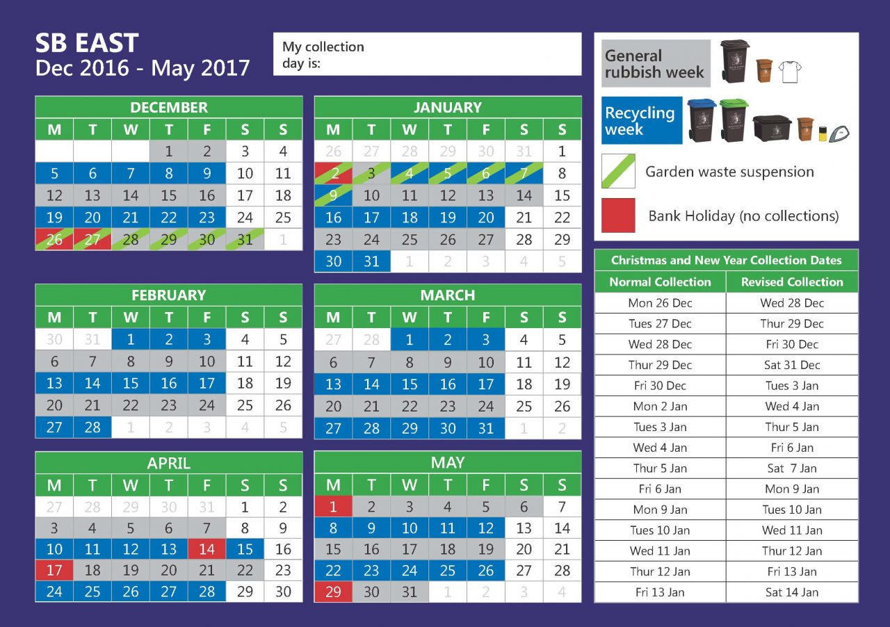 Refuse collection Calendar 2017_Page_1